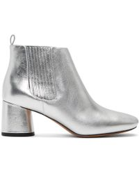 Marc Jacobs - Silver Rocket Chelsea Boots - Lyst