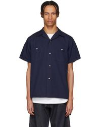 Blue Blue Japan - Indigo Hand Dyed Shirt - Lyst