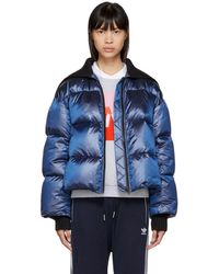 KENZO - Blue Limited Edition Holiday Down Cropped Jacket - Lyst