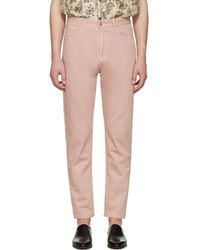 Cmmn Swdn - Pink Maxime Crop Jeans - Lyst
