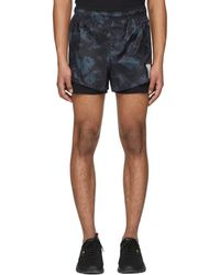 Satisfy - Black And Green Tie-dye Short Distance 3 Shorts - Lyst