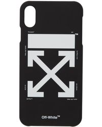 Off-White c/o Virgil Abloh ブラック And ホワイト アロー Iphone Max ケース
