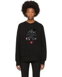 Moncler Grenoble   Black Face Sweatshirt   Lyst