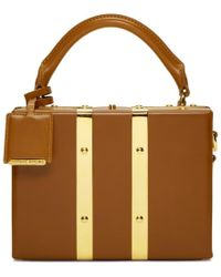 Sophie Hulme - Tan Mini Albany Suitcase Bag - Lyst