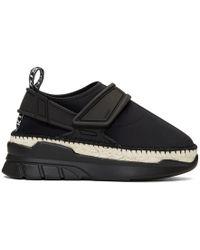 KENZO - Black K-lastic Espadrille Sneakers - Lyst