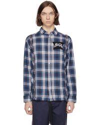 DIESEL - Blue S-easto Shirt - Lyst