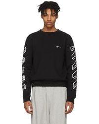 Off-White c/o Virgil Abloh - Black Diagonal Marker Arrows Sweatshirt - Lyst