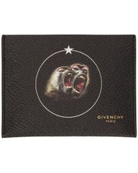 Givenchy - Black Monkey Brothers Card Holder - Lyst
