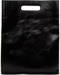 Helmut Lang - Black Flat A4 Clutch - Lyst
