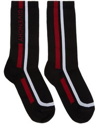 Givenchy - Cotton Blend Socks With Logo - Lyst