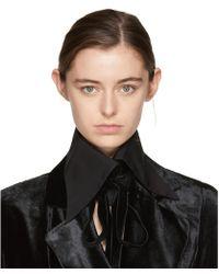 Ann Demeulemeester - Black Byron Shirt Collar - Lyst