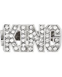 Dolce & Gabbana - Silver King Ring - Lyst