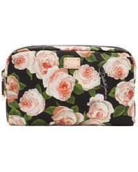 Dolce & Gabbana - Multicolor Flowers Cosmetics Pouch - Lyst