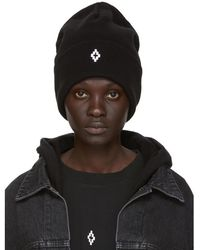 Marcelo Burlon - Black Cross Beanie - Lyst