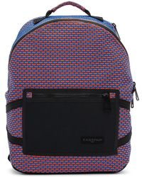 Eastpak - Orange And Blue Padded Bright Twine Backpack - Lyst