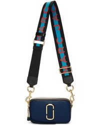 Marc Jacobs - Navy And Black Snapshot Bag - Lyst