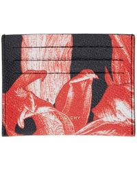 Givenchy - Black And Red Iris Card Holder - Lyst