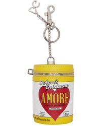 Dolce & Gabbana - Porte-cles multicolore Amore Energy Can - Lyst