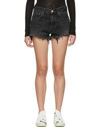 Moussy - Black Hays Shorts - Lyst