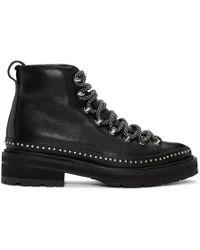 Rag & Bone - Black Compass Ii Shearling Boots - Lyst