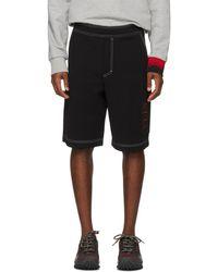 Valentino - Black Vltn Shorts - Lyst