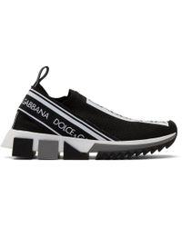 Dolce & Gabbana - Black Sorrento Sneakers - Lyst