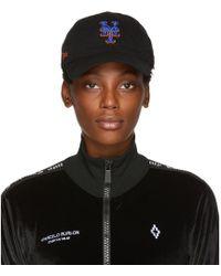 Marcelo Burlon - Black Ny Mets Edition Cap - Lyst