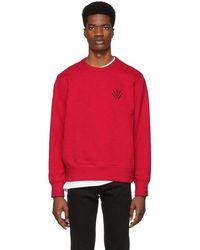 Rag & Bone - Red Dagger Sweatshirt - Lyst