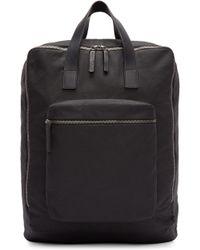 Ann Demeulemeester - Black Canvas Backpack - Lyst
