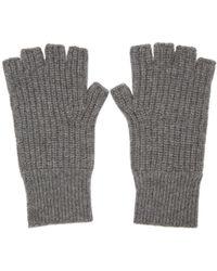 Rag & Bone - Grey Cashmere Kaden Gloves - Lyst