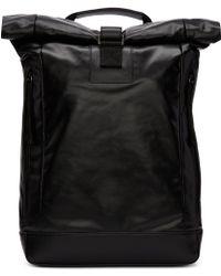 1c4145b618bd Diesel Black Gold - Black Coated Backpack - Lyst