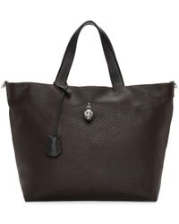 Alexander McQueen - Brown Hold-all Tote - Lyst