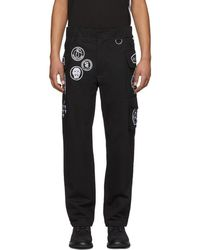 KTZ - Black Scout Patches Military Trousers - Lyst