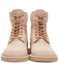 Hender Scheme | Beige Manual Industrial Products 14 Boots | Lyst