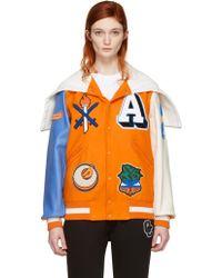 Opening Ceremony - Orange Argentina Global Varsity Jacket - Lyst