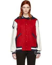 Opening Ceremony - Red Usa Global Varsity Jacket - Lyst