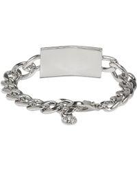 Versus - Silver Lion Chain Bracelet - Lyst