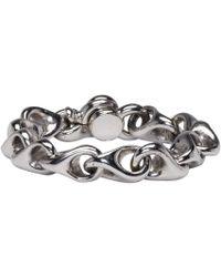 KTZ - Silver Regular Bracelet - Lyst