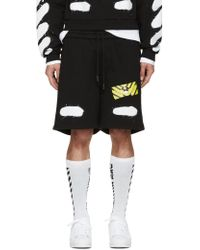Shop Men's Off-White c/o Virgil Abloh Shorts from $162   Lyst