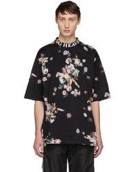 Dolce & Gabbana - Black Heaven Flower Print T-shirt - Lyst