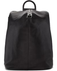 Wooyoungmi - Black Structure Backpack - Lyst