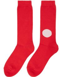Blue Blue Japan - Japanese Flag Sock - Lyst