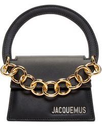 Jacquemus - Black 'le Petit Rond' Clutch - Lyst
