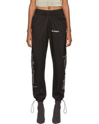 Palm Angels - Black Goth After Sport Lounge Trousers - Lyst