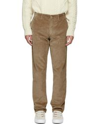 Norse Projects - Khaki Corduroy Aros Trousers - Lyst