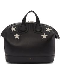 Givenchy | Black Stars Nightingale Bag | Lyst