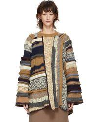 Stella McCartney - Multi Knit Wool Jumper - Lyst