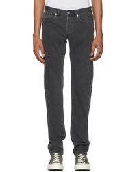 A.P.C. - Grey Petit New Standard Jeans - Lyst