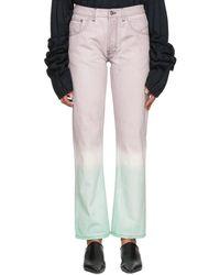 Loewe - Multicolor Tie-dye Jeans - Lyst