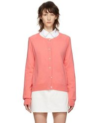 A.P.C. - Pink Anda Cardigan - Lyst